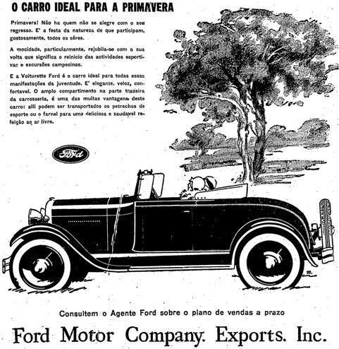 Ford completa 97 anos de produção em série de automóveis no Brasil