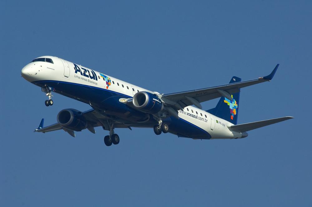 Azul reiniciou operações em Parnaíba neste sábado