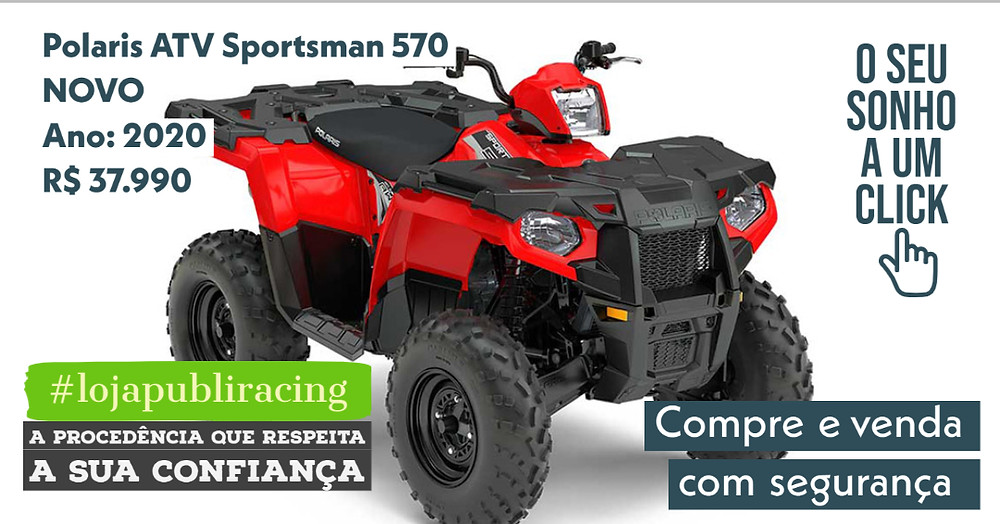 ACESSE #LOJA CLICANDO - Polaris ATV Sportsman 570 - NOVO