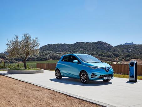 Renault lidera mercado de veículos elétricos na Europa