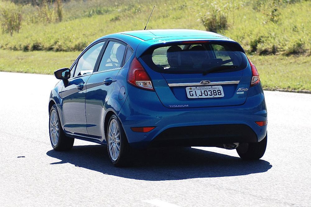 Ford lança o New Fiesta Titanium com motor 1.0 Turbo