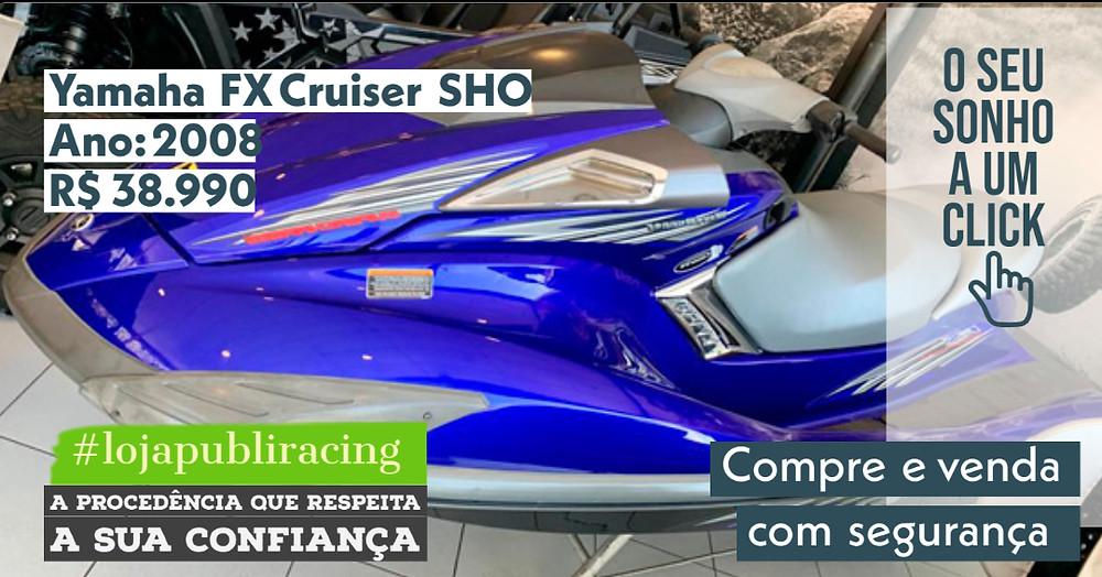 NA #LOJA PUBLIRACING - Jet-ski Yamaha FX Cruiser SHO