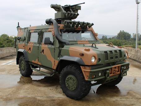 Iveco Defence Vehicles entrega a primeira unidade do LMV-BR para o Exército Brasileiro