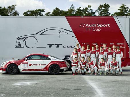 Audi Sport TT Cup com convidados em Hockenheim