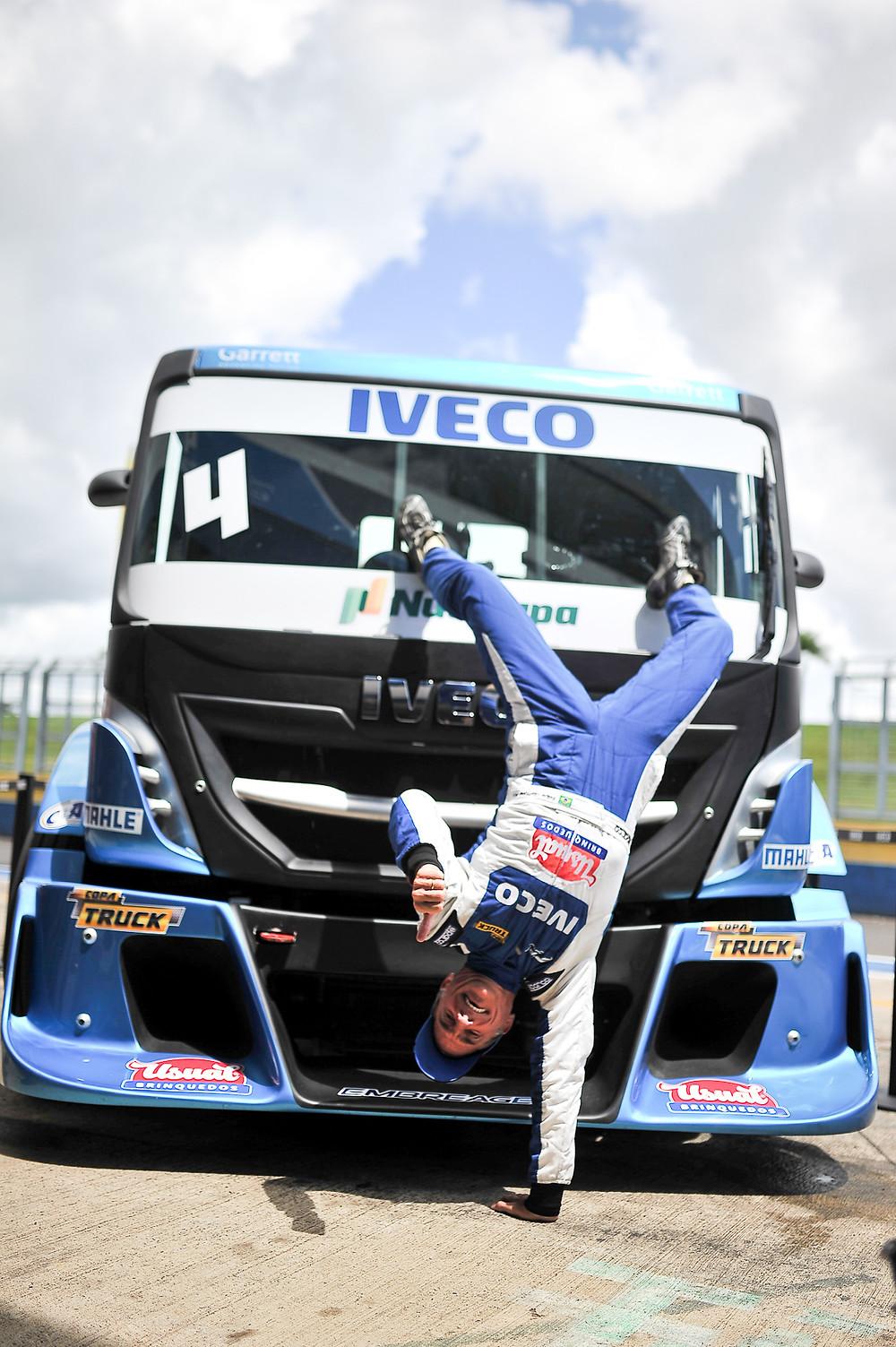 Copa Truck: Giaffone faz história ao cravar pole na estreia da nova equipe e de caminhão Iveco