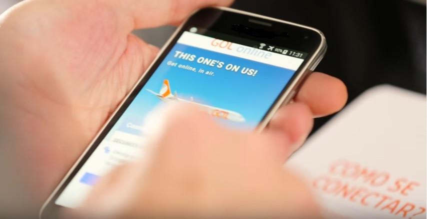 GOL completa um mês de Wi-Fi a bordo com 13 mil acessos