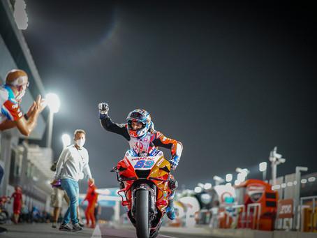 MotoGP: Jorge Martin de Ducati conquista primeira pole na categoria