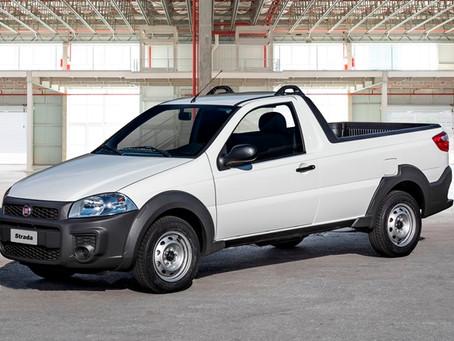 Fiat consolida domínio na venda de comerciais leves com os modelos Strada e Toro