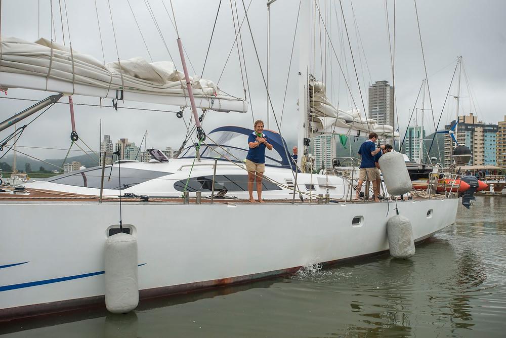 Marina Itajaí é ponto de concentração de veleiros em Santa Catarina