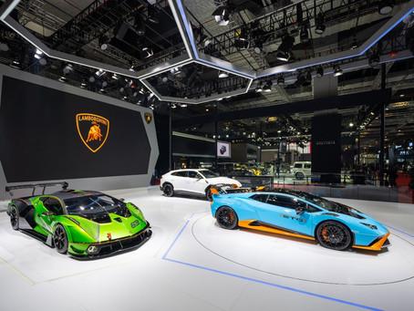 Três estreias da Lamborghini no Salão do Automóvel de Xangai 2021