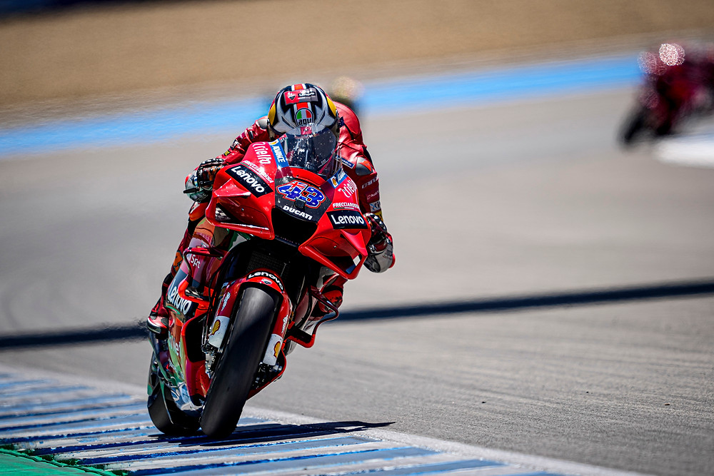 Moto GP: Dobradinha da Ducati na Espanha com vitória de Miller e Pecco Bagnaia em segundo