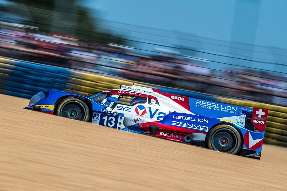 Nelsinho Piquet vai ao pódio nas 24 Horas de Le Mans e é segundo na categoria LMP2