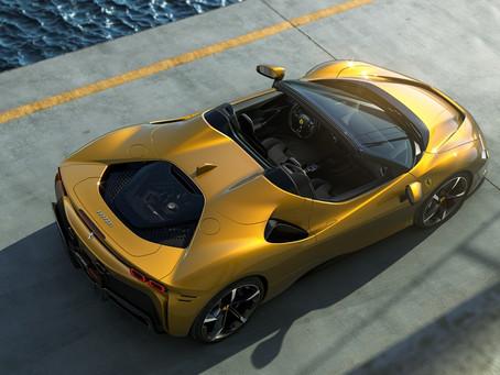 Expressas: Ferrari apresenta o SF 90 Spider, conversível hibrido de 1000 cv