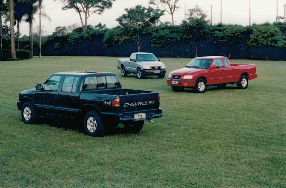 S10 celebra 25 anos com 1 milhão de unidades produzidas no Brasil