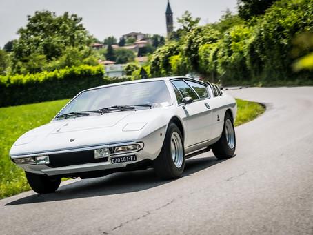Lamborghini celebra o 50º aniversário do Urraco