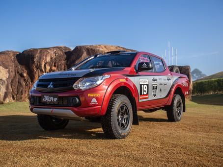 L200 Triton Sport R faz sua estreia nas pistas na abertura do Brasileiro de Rali Cross-country