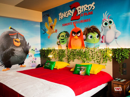 Venha se aventurar no novo quarto Angry Birds 2 do Novotel Itu Golf & Resorts