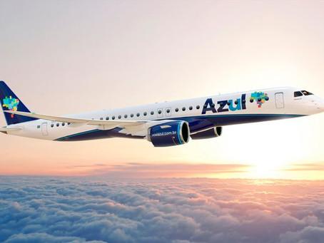 Azul confirma compra de mais 21 jatos Embraer E195-E2