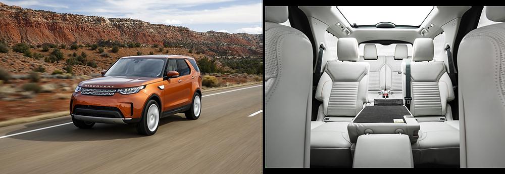 Land Rover confirma versões e preços do novo Discovery.