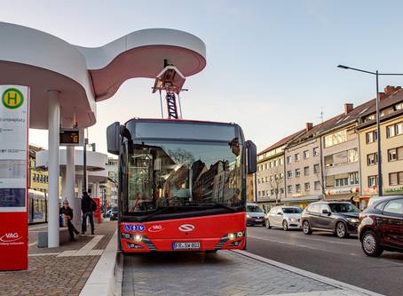 Solaris entrega mais ônibus elétricos para as ruas de Friburgo