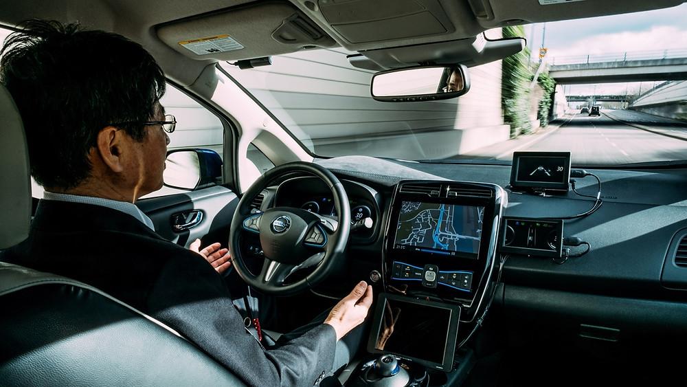 Nissan inicia testes nas ruas com veículos autônomos na Europa