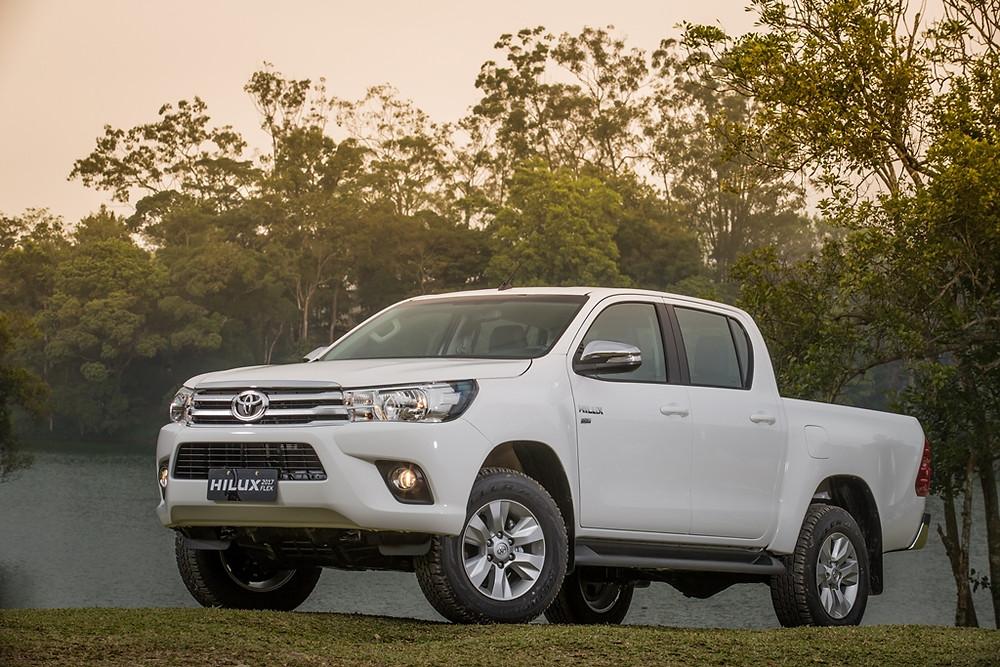 Recall: Campanha de chamamento preventiva de veículos da marca Toyota, modelos Hilux e SW4