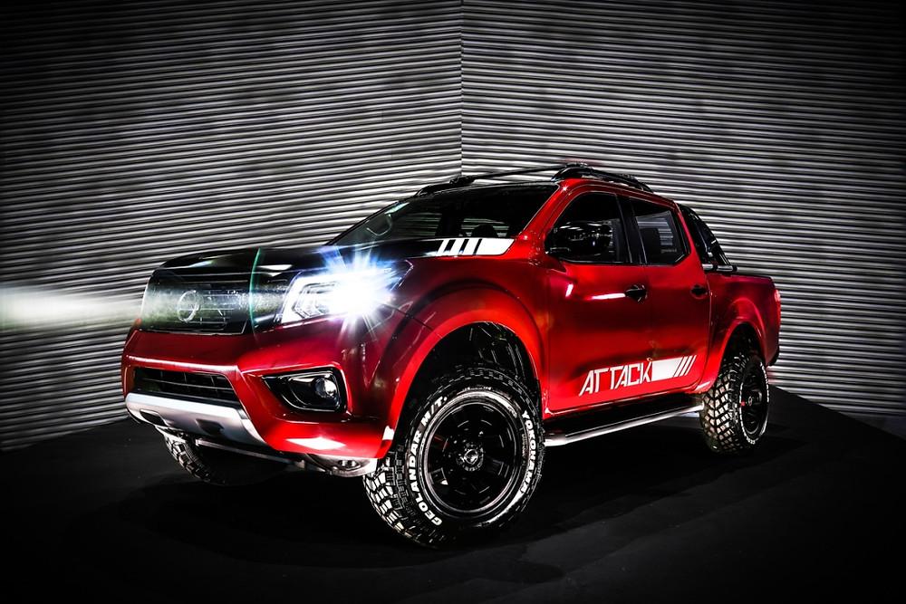Nissan Frontier Attack Concept é destaque da marca no Salão do Automóvel de Buenos Aires