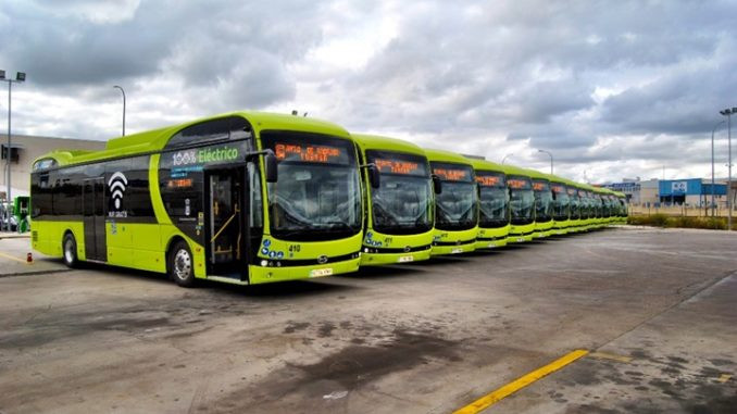 Expressas: Ônibus eletrificados da BYD chegam na Holanda
