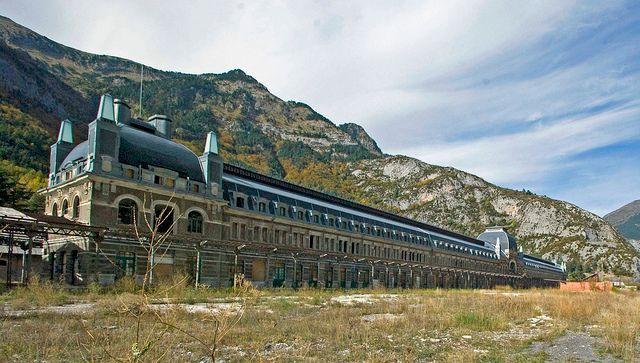 Estação de Canfranc - Espanha / França