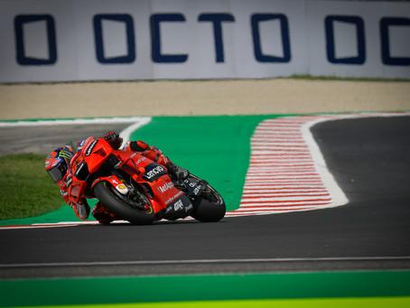 MotoGP: Bagnaia lidera domínio Ducati em Misano
