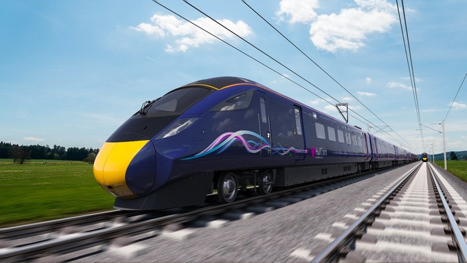 Hitachi vai entregar cinco novos trens AT300 para o operador britânico First Group