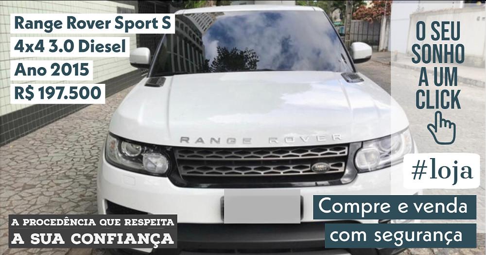 A #LOJA PUBLIRACING - Range Rover Sport S 4x4 3.0 DIESEL