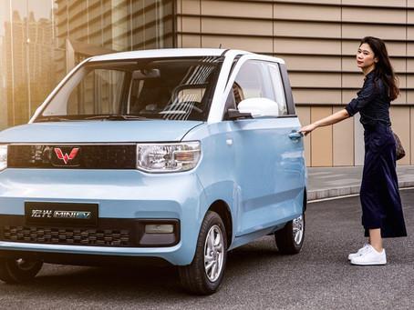 Expressas: Minicarro da GM foi o elétrico mais vendido na China em Agosto