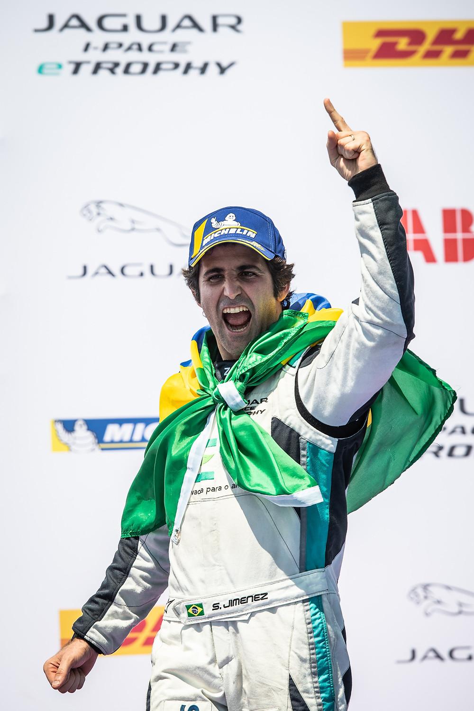 I-Pace e-Trophy: Sérgio Jimenez vence em Nova York e conquista título