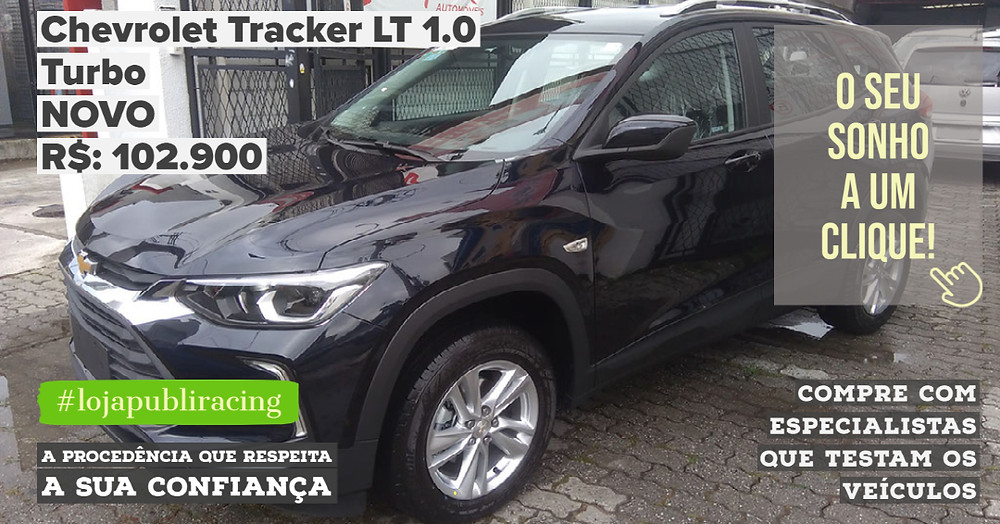 ACESSE #LOJAPUBLIRACING CLICANDO - Chevrolet Tracker LT 1.0