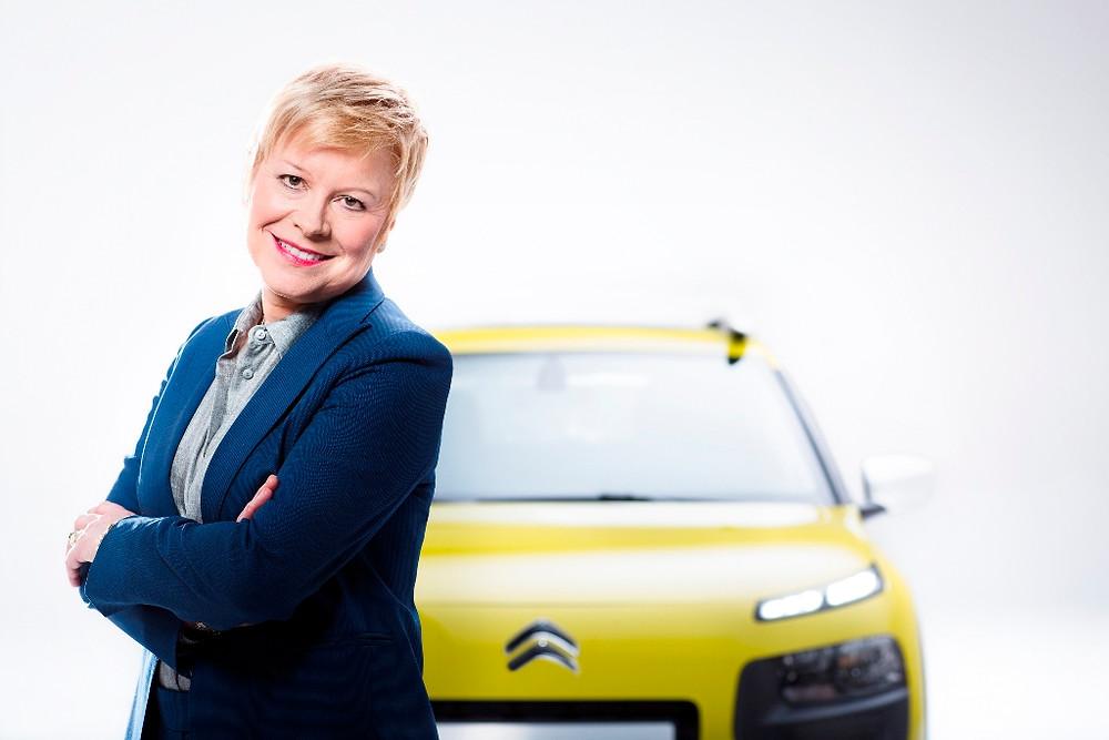 CEO da Citroën, Linda Jackson, participará da coletiva de imprensa da marca que antecede abertura do Salão do Automóvel
