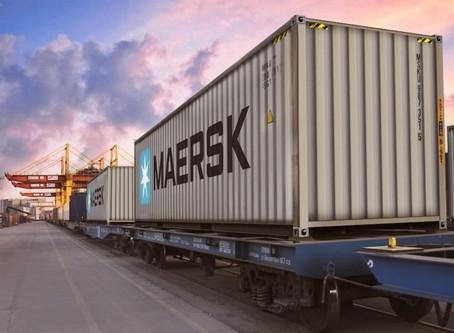 Operador logístico Maersk combina navio e trem para ligação Ásia-Norte da Europa