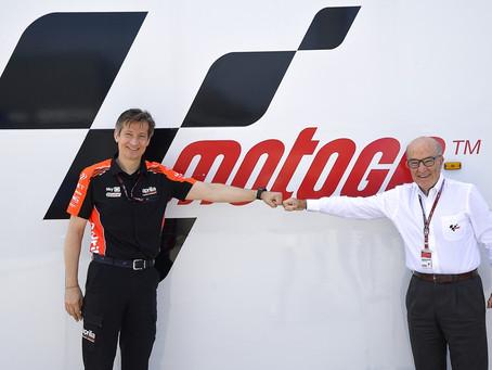 MotoGP: Aprilia Racing assina acordo com a Dorna até 2026