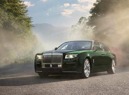 Expressas: Rolls-Royce Ghost 2021 tem tração integral