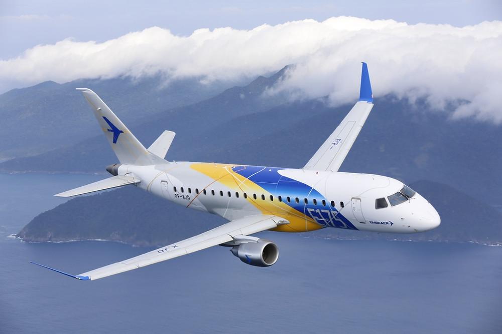 Embraer e Horizon Air assinam contrato para 30 jatos E175