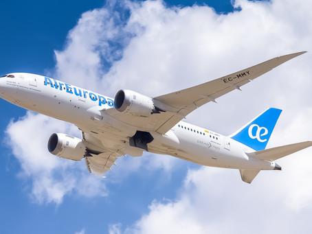 Aviação: Air Europa retoma seus voos para Miami e Nova York em junho