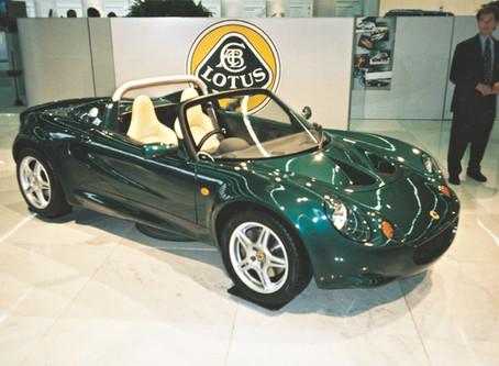 O Lotus Elise nasceu há 25 anos
