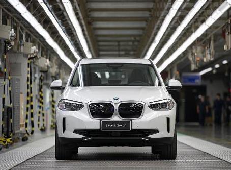Começou a produção do BMW iX3 na China