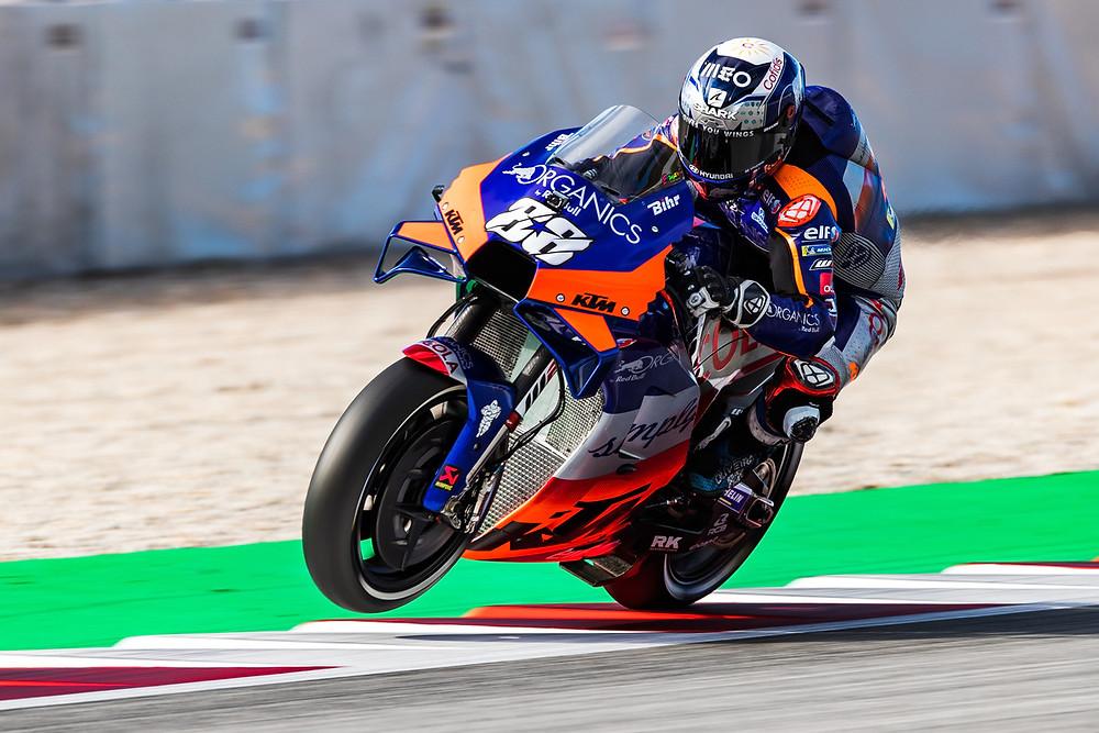 MotoGP: Miguel Oliveira sai da quarta linha do grid