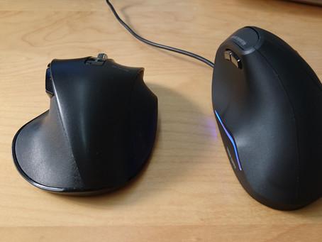 エルゴノミクスマウス(縦型マウス)