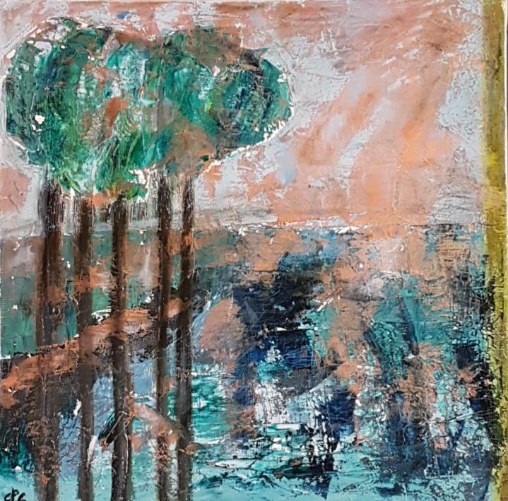 Lumiere d'automne, 30x30cm
