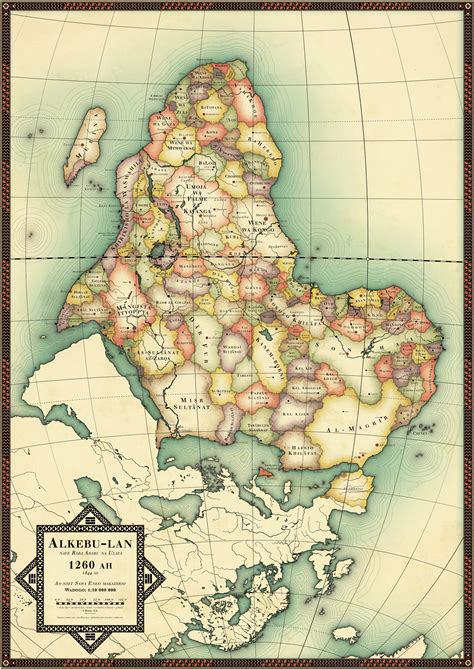 Alkebu-Lan 1260 AH
