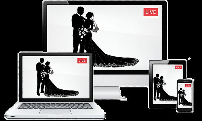 Our Wedding Live Stream - Transparent.pn