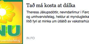 Samrøða: Mangla eina virkisætlan fyri at skerja útlát