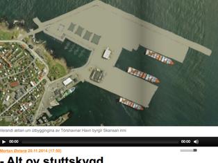 Samrøða við FNU um útbyggingina av Tórshavnar Havn
